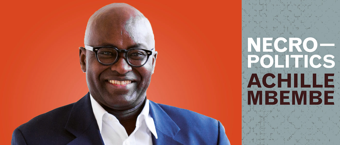 November 11th, 2020 - Master Class with Achille Mbembe > Center for  Transpacific Studies > USC Dana and David Dornsife College of Letters, Arts  and Sciences