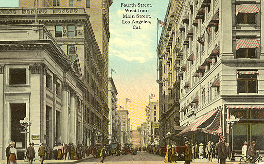 Farmers and Merchants Bank > Downtown Los Angeles Walking