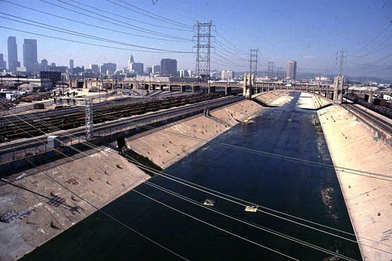 Los Angeles River and Bridges