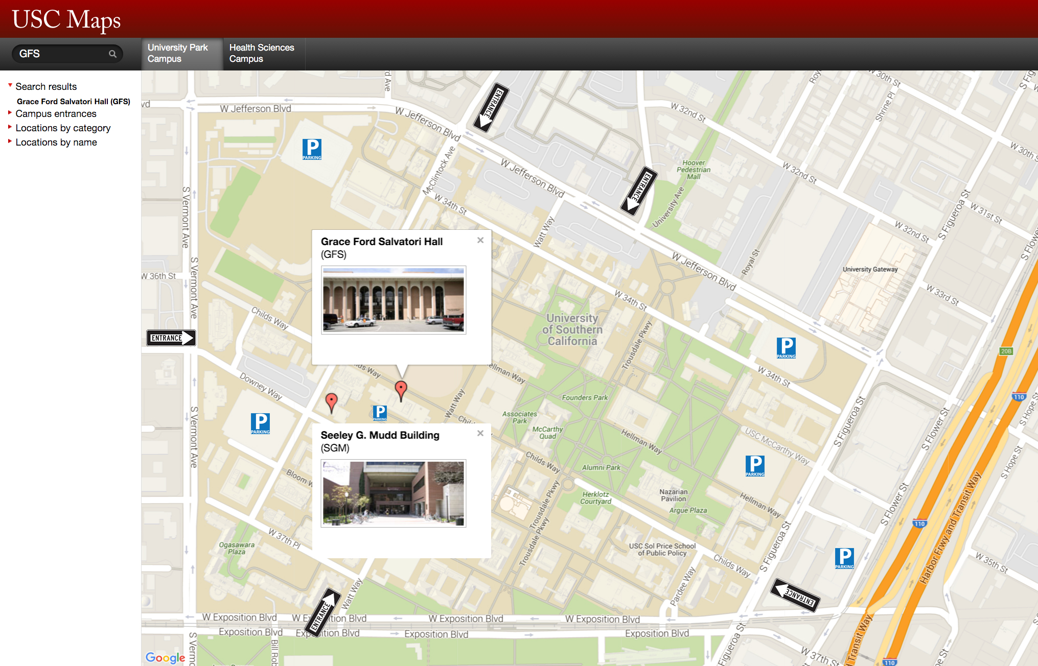 Events Archive  Department Of Anthropology  USC Dana And David - Map of usc sunshine coast